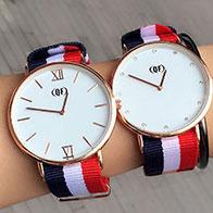 时尚潮流百搭男女士手表,情侣表微商货源外贸批发