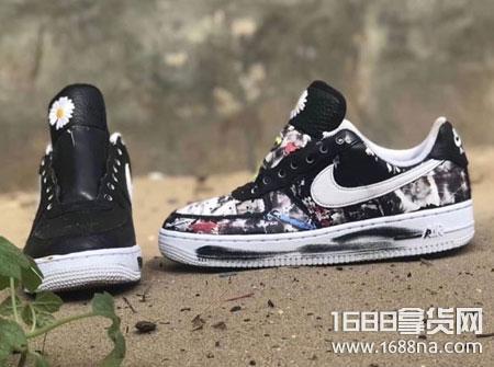 耐克权志龙联名AF1刮刮乐怎么样 Nike权志龙联名多少钱