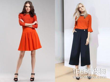 夏季橙色七分袖怎么搭配 橙色鞋子怎么搭配衣服和裤子