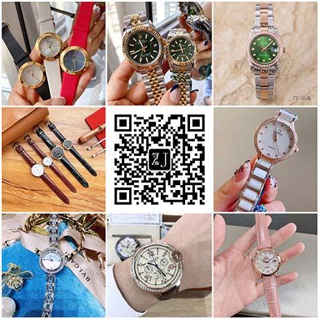 广州原单1:1复刻大厂男女劳力士、江斯丹顿手表