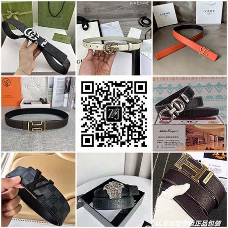 广州精品官网专柜1:1复刻男女皮带,一件代发